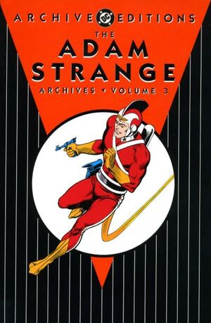 Cover for Adam Strange Archives #3