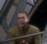 Bajoran security officer fighting a Hunter
