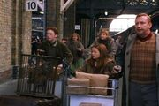 The Weasleys at King&#39;s Cross