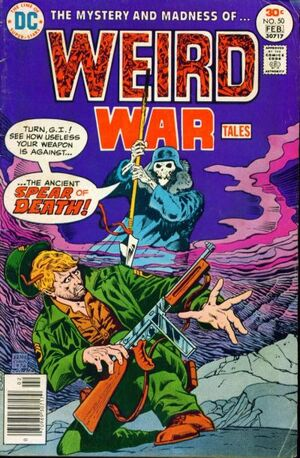 Cover for Weird War Tales #50