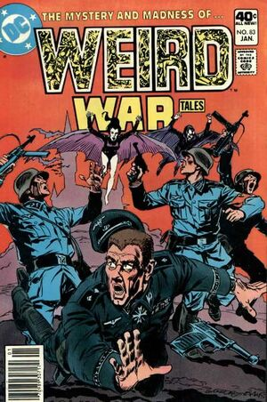 Cover for Weird War Tales #83