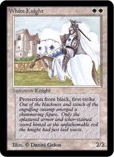White Knight - The Magic: The Gathering Wiki - Magic: The Gathering ...