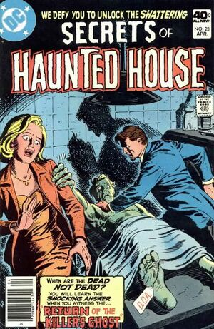 Cover for Secrets of Haunted House #23