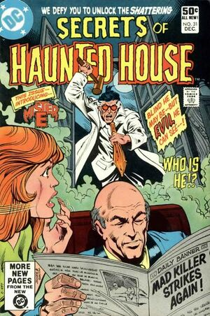Cover for Secrets of Haunted House #31
