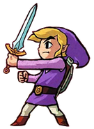 Purple Link (Four Swords)