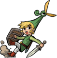 Link Artwork 5 (The Minish Cap)