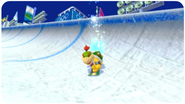 Bowserjr snowboarding