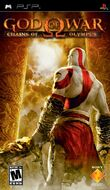God of War Chains of Olympus NA version front cover
