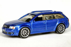 Metalflake Blue Audi RS6 Avant - 6704df