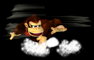 Donkey Kong Spinning Kong SSBM