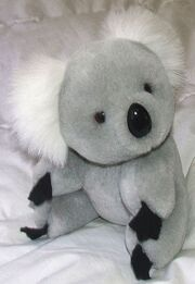 Cute stuffed koala toy