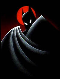 Batman TAS poster
