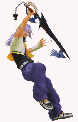 KH2 Artwork Riku