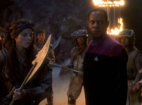 Sisko with Ennis and Nol-Ennis