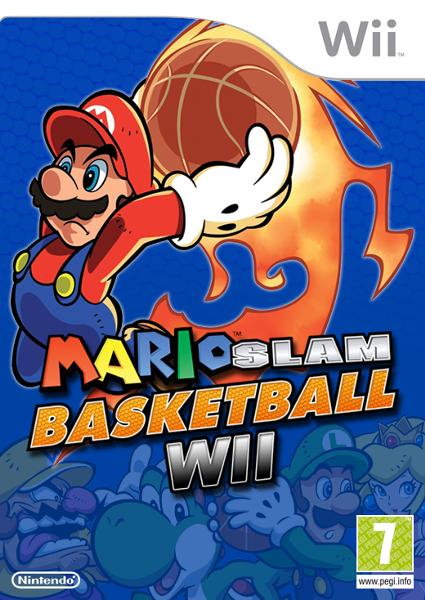 mario slam basketball wii super mario fanon