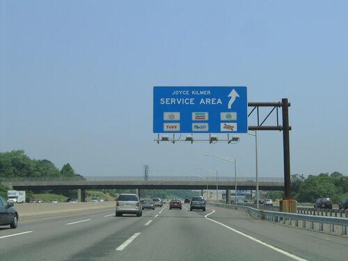 New Jersey New Jersey Turnpike Joyce Kilmer Rest Stops