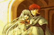 Eliwood &amp; Ninian Ending