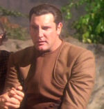 Bajoran deputy on Jerrado 1