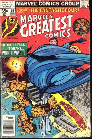 Marvel&#39;s Greatest Comics Vol 1 76