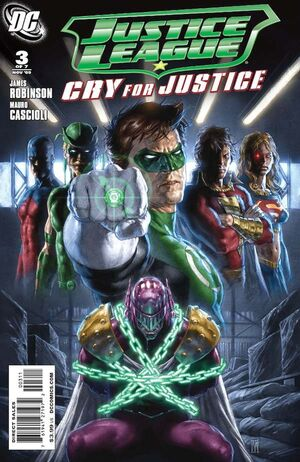 Cover for Justice League: Cry for Justice #3