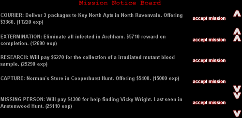 &quot;Mission Notice Board&quot;