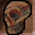 Skull of a Dark Master Icon