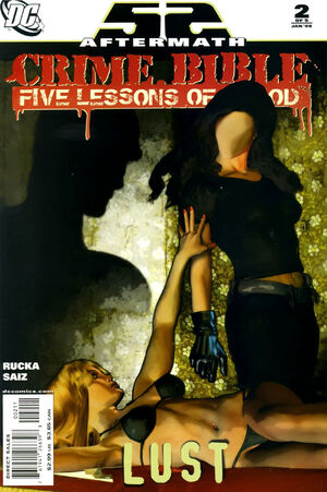Cover for Crime Bible: Five Lessons of Blood #2