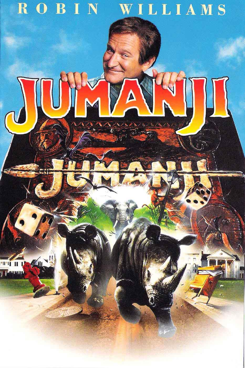 Robin Williams Jumanji Jumanji - Doblaje Wiki