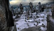Dwarves at the Ruin City of Fornost