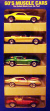 60's Muscle Cars 5 Pack