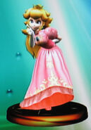 Peach smash trophy (SSBM)