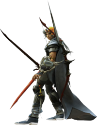 Firion Dissidia CG render
