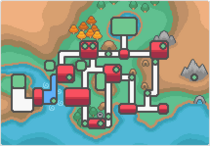 Johto mapa juegos