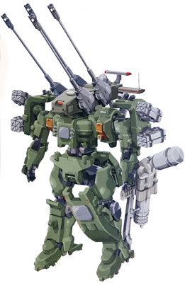 MSJ-06II-AC Tieren Antiaircraft Cannon Type