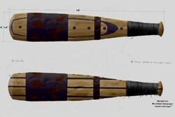 Quidditch Bludger Bat (Concept Artwork)