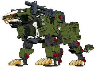 Panzer Liger Zero The final Zoids Liger Forms