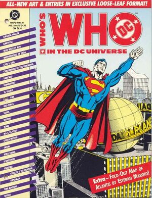 Cover for Who's Who in the DC Universe #1