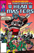 Transformers Headmasters Vol 1 1