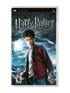 Half-Blood Prince video game PSP cover art