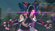 Juri gameplay