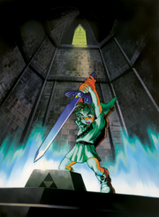 Link and the Master Sword (Ocarina of Time)