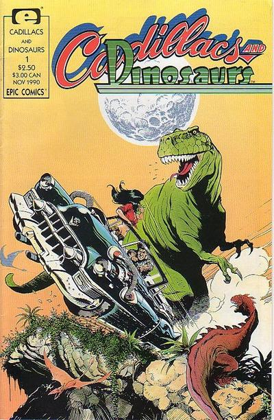 Classic Comic Covers - Page 3 Cadillacs_and_Dinosaurs_Vol_1_1