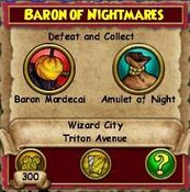 Q WC Baron of Nightmares 1