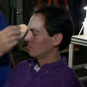 Unknown actor with Bajoran make up