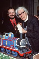 RingoStarrwithReverendW.Awdry
