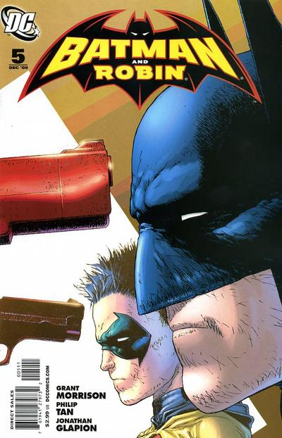 Cover for Batman and Robin #5