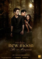 Twilight new moon filmposter deutsch