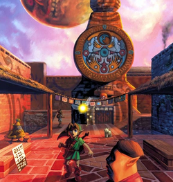 Link in Clock Town
