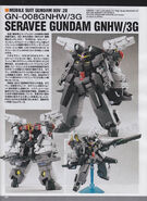GN-008GNHW3G Seravee Gundam 00V II