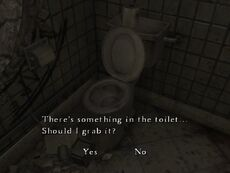The Room toilet